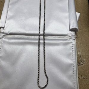 David Yurman Box Chain Necklace!